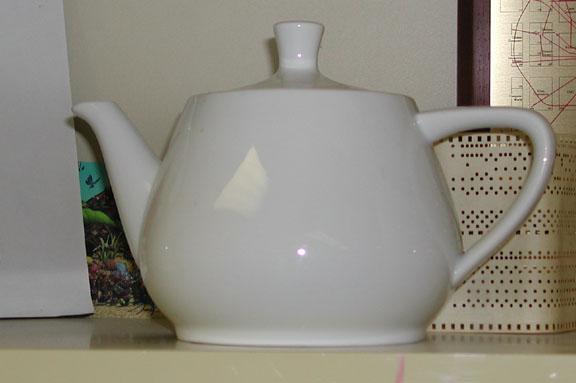 real teapot